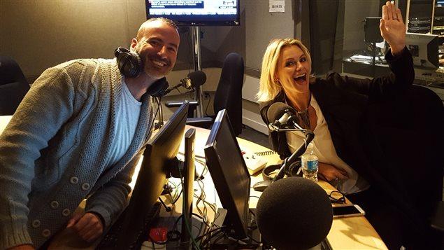 Kevin Sweet et Caroline Néron