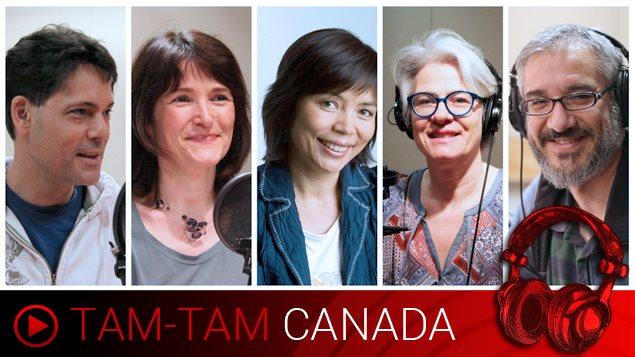 Vos animateurs, Stéphane Parent, Anne-Marie Yvon, Wei Wu, Marie-Claude Simard et Leonardo Gimeno.