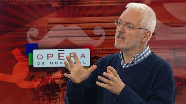 Le musicologue Pierre Vachon