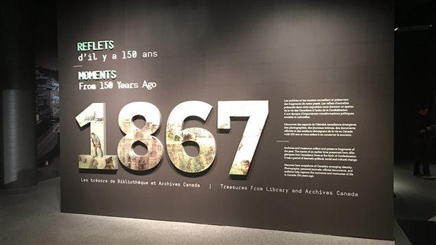 Exposition dans le cadre du 150e anniversaire de la Confédération au Musée canadien de l'histoire