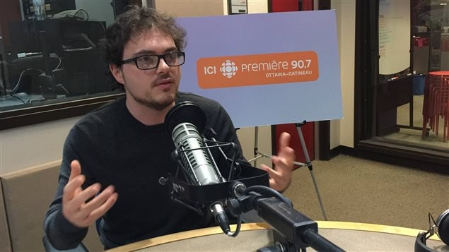 Robb Barnes, organisateur en chef, Écologie Ottawa
