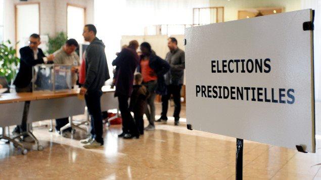 Les bureaux de vote sont ouverts en France.