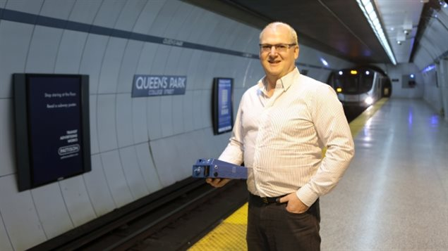 Greg Evans, a University of Toronto engineering professor, investigated air pollution in the city's subway lines and found it was the highest of any of Canada's three major transit systems.