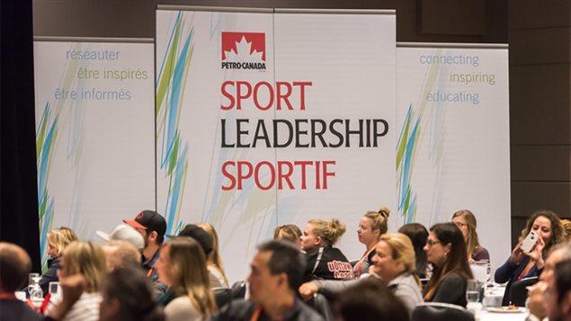 2016 Petro-Canada Sport Leadership Conference.