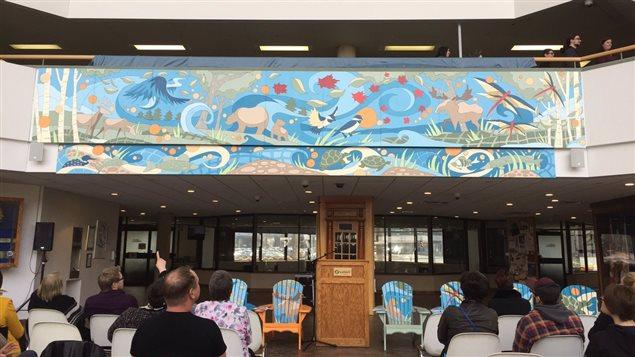 Nouvelle murale à la Place Tom Davies