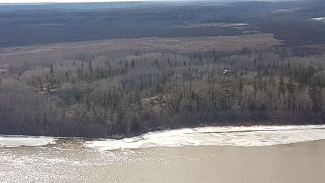 The chief of the Mikisew First Nation says searchers have looked 'high and low' on land and in the water. (RCMP)