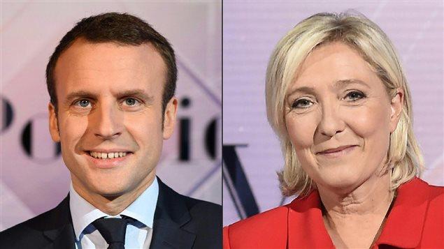 Emmanuel Macron et Marine Le Pen, deux visions opposées de la France