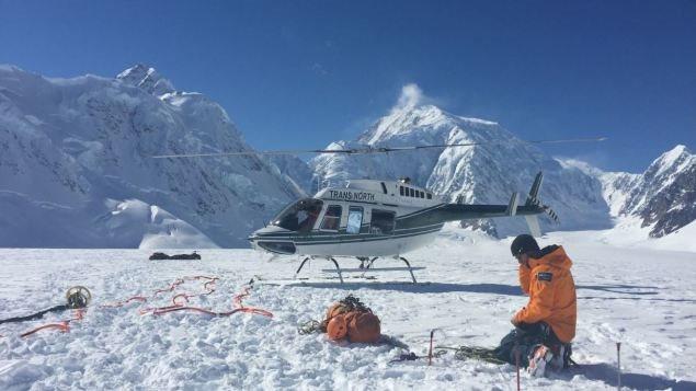 Es mendocina la chica atrapada en una montaña en Canadá