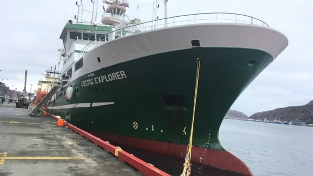 The RV Celtic Explorer left Newfoundland late last week on an slow voyage between Newfoundland and Ireland stopping at dozens of points along the way to take measurements and gather data of the condition of the ocean connected to climate and CO2