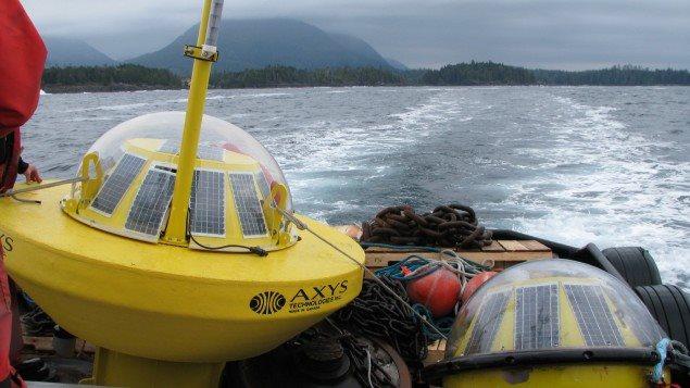 Une bouée pour mesurer la force des vagues