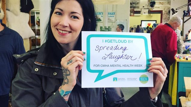 People are encouraged to find their own ways to 'Get Loud' about mental health.