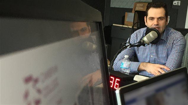 Rick Daoust, directeur de l'informatique au Collège Cambrian