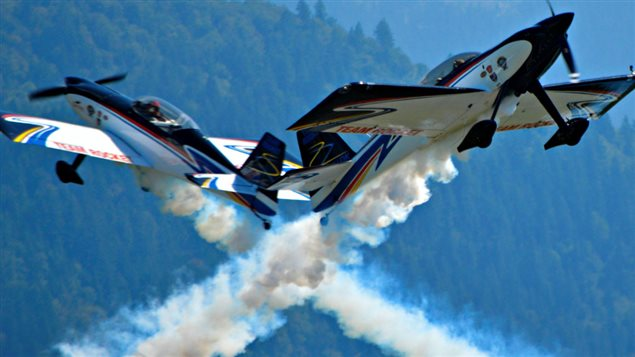Team Rocket Aerobatics, with pilots Eric Hansen and Ken Fowler, will be part of this summer's aviation tour of the Arctic.