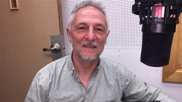 André Marois, l'auteur de polars et de science-fiction pour enfants.