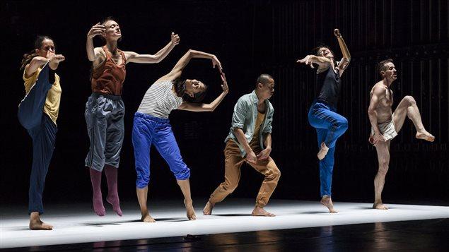Emanuel Gat et sa compagnie de danse.