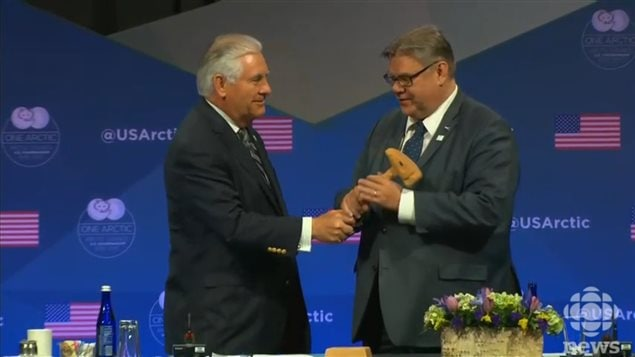 U.S. hands Arctic Council gavel over to Finland