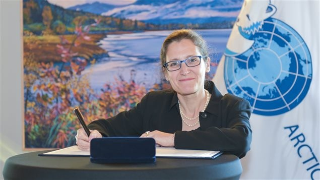 ICC Takes the Opportunity to Observe and Reflect the Arctic Council Ministerial