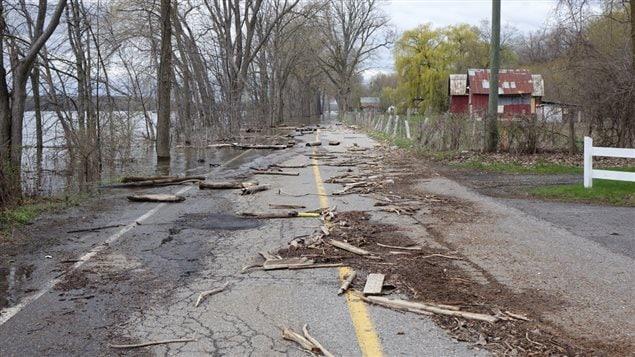 Une opération de nettoyage devrait bientôt être lancée en Outaouais, alors que les niveaux d'eau sont à la baisse.