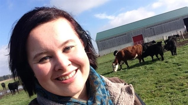 Amanda Brodhagen is in line to take over her family's farm in southwestern Ontario that's focused right now on raising beef cattle and growing corn, grain and hay. The Census shows more women and young people are becoming farmers,but the average age of farmes is still increasing.