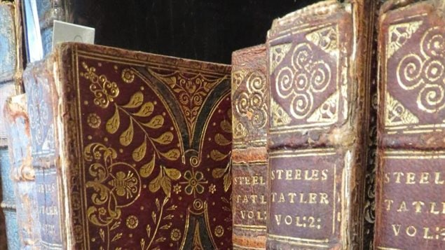 Examples of the many antiquarian and rare books awaiting either restoration or recreation in a carefully precise and painstaking process by Alex depending on owner's interests and the condition of the books.