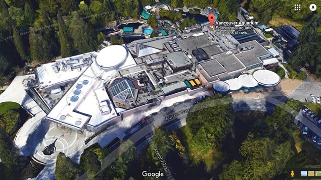 The vancouver Aquarium complex