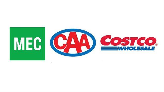 MEC, CAA et Costco sont les trois marques préférées des canadiens selon L'École Peter B. Gustavson de la Faculté d'administration de l'Université de Victoria.
