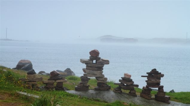 Inukshuks in the Inuit self-governing region of Nunatsiavut in the Atlantic Canadian province of Newfoundland and Labrador. (iStock)