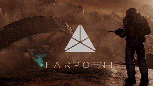 Le jeu FarPoint est un jeu de réalité virtuelle.