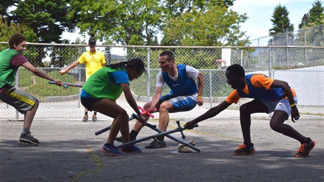 Des jeunes participent aux Jeux francophones de la Colombie-Britannique