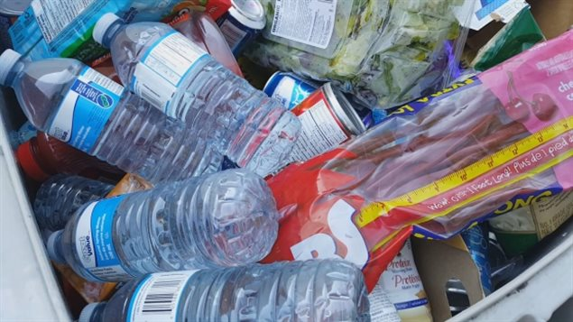 Billions of dollars worth of still good food products are thrown out be grocery stores each year. A new mobile app seeks to reduce such waste while giving stores a profit benefit and consumers a price brea