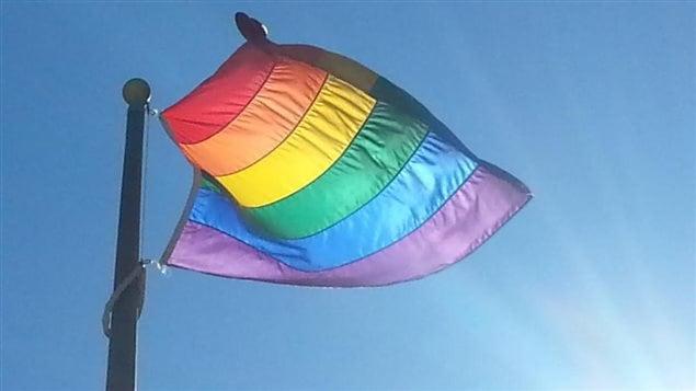 Drapeau de la fierté LGBTQ