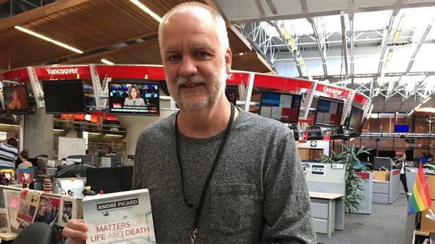 Le chroniqueur spécialiste des questions de santé au Globe and Mail, André Picard