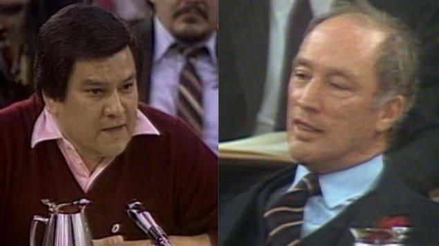 Bill Wilson et Pierre Trudeau