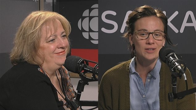 Suzanne Campagne et Rosane Doré Lefebvre