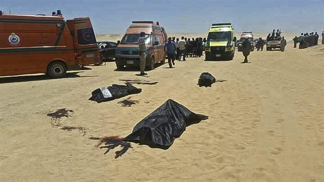 At least 28 killed in ambush attack on Christians in Egypt