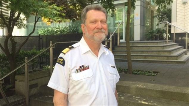 Roger Girouard, porte-parole de la Garde-Cotière.