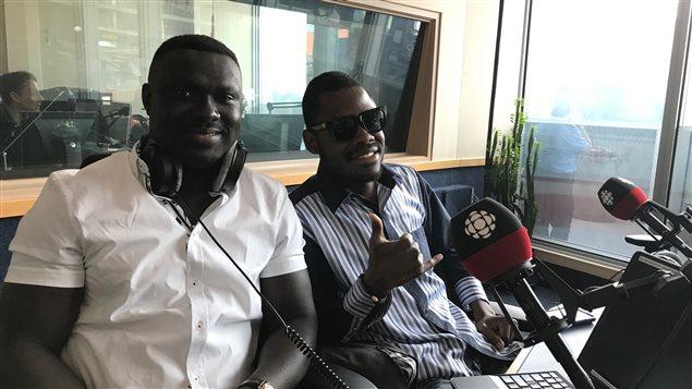 Mike Gasana et Jessy Malaba, musiciens congolais