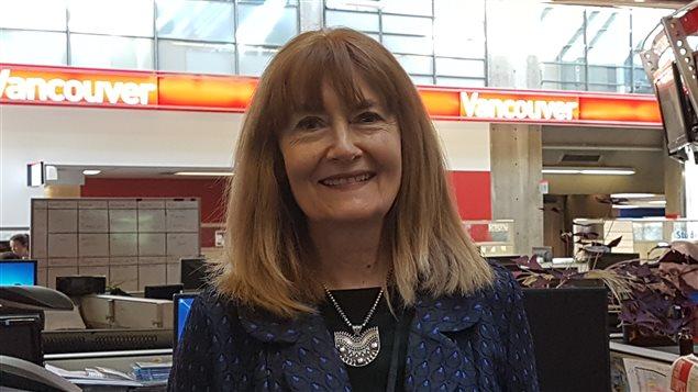 Mary Downe, artiste vancouvéroise.