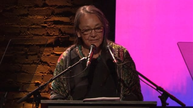 Indigenous actress Tantoo Cardinal was among the speakers at the Amnesty International awards ceremony.