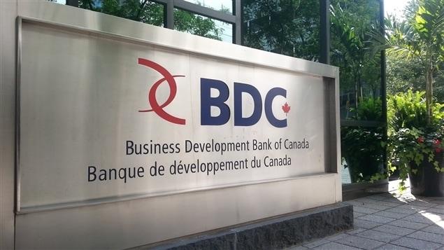 L'édifice de la Banque de développement du Canada (BDC) à Ottawa (archives).