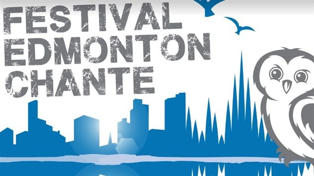 Affiche du festival Edmonton Chante