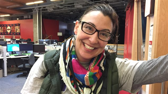 Coco Roberge, directrice artistique de Shift Théâtre.