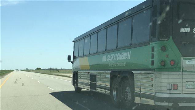 Un autocar de la STC