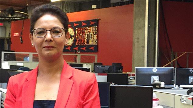 Padminee Chundunsing, présidente de la Fédération des francophones.