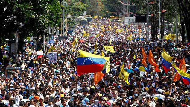 manifestations-Venezuela