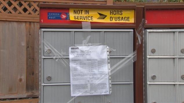 Boîtes postales et vandalisme