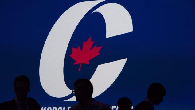 Le logo du Parti conservateur du Canada.