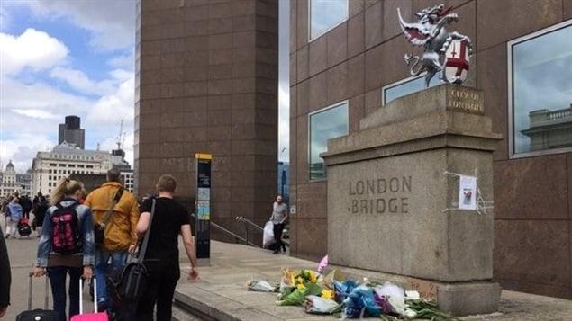 Le pont de Londres, à la suite des attentats du 3 juin 2017.