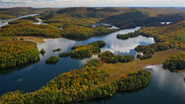 The Kenauk territory consists of ecologically important forests, wetlands, lakes and streams.