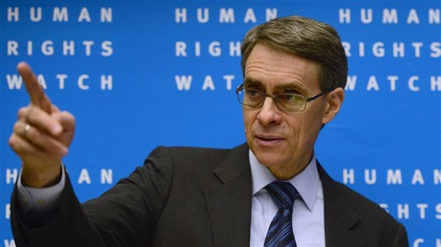 Kenneth Roth, director general de Human Rights Watch.